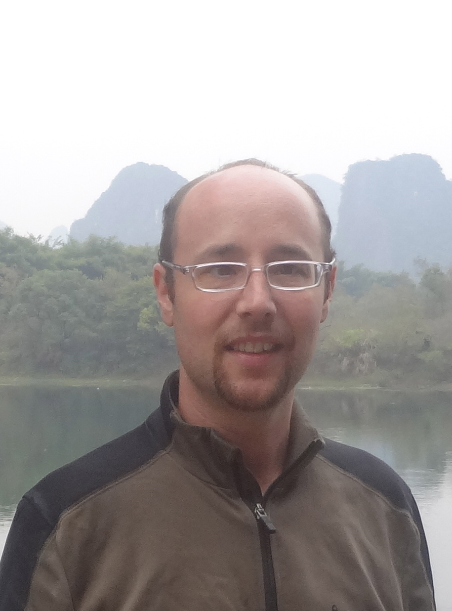 Me in front of the Li river, near Yangshuo in GuangXi province of China.