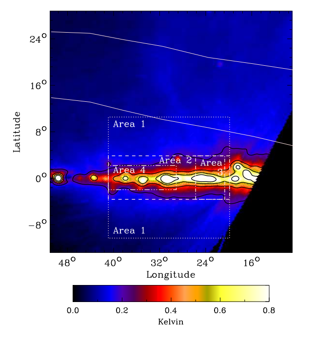 The C-Band All Sky Survey: Separation of Diffuse Galactic Emissions at 5 GHz