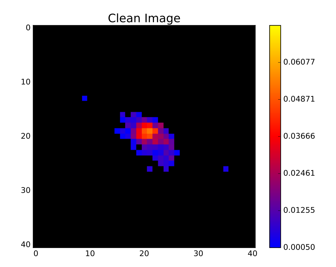 Space variant deconvolution of galaxy survey images