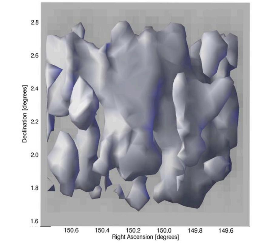 Dark matter maps reveal cosmic scaffolding