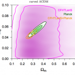 CFHTLenS: Cosmological constraints from a combination of cosmic shear two-point and three-point correlations