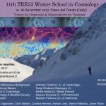 TRR33 Winter School on Cosmology 2017