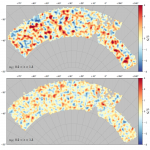 Dark Energy Survey Year 1 Results: Curved-Sky Weak Lensing Mass Map