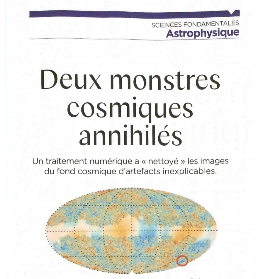 Two Cosmic Monsters Annihilated (Deux Monstres Cosmiques Annihilés)