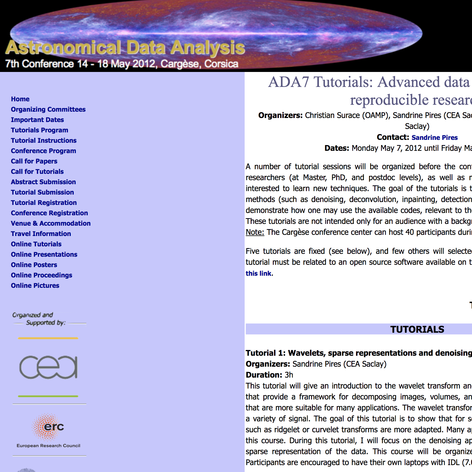 7th Edition of the Astronomical Data Analysis (ADA7) Summer School