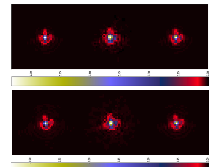 Constraint matrix factorization for space variant PSFs field restoration