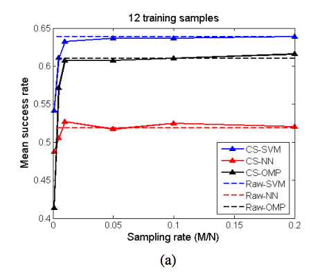 Compressive video classification for decision systems with limited resources