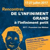 Rencontres d'été de physique de l'infiniment grand à l'infiniment petit : 2017 promotion Lise Meitner