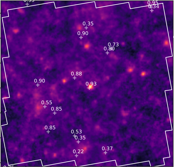 Probabilistic Mapping of Dark Matter by Neural Score Matching